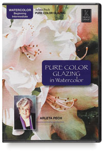 Pure Color Glazing in Watercolor