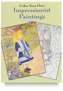 Color Your Own Impressionist Paintings