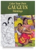 Color Your Own Gaugin Paintings