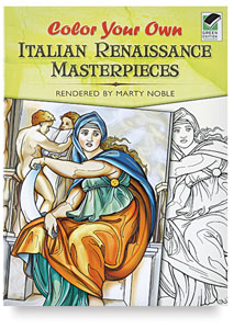 Color Your Own Italian Masterpieces