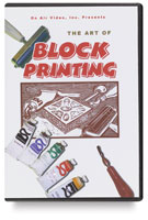 The Art of Block Printing DVD