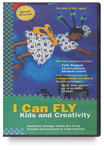 I Can Fly: Kids &amp; Creativity, DVD