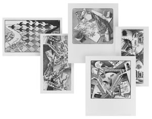 Escher Print Set, #143 - Part 1