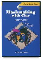 Art Is Maskmaking with Clay DVD