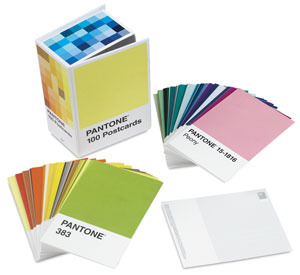 Pantone Postcards