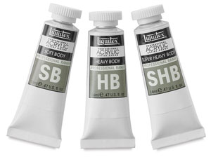 FREE  Liquitex Paint Sampler Set with purchase of $20 of Liquitex Acrylic Mediums