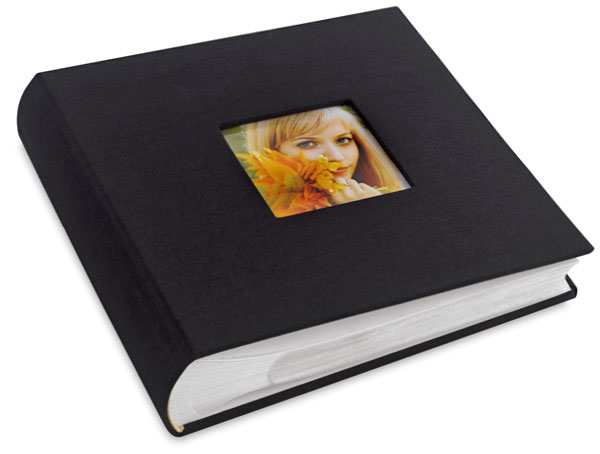 Bookbound Photo Album, Black