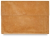 Camel Leather Clutch Portfolio