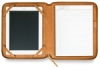 Leather Tablet Folio, Camel