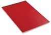 Grid Staplebound Notebook, Raspberry, 38 Sheets