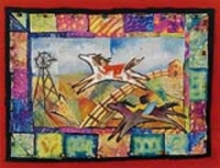 Painted Story Quilt